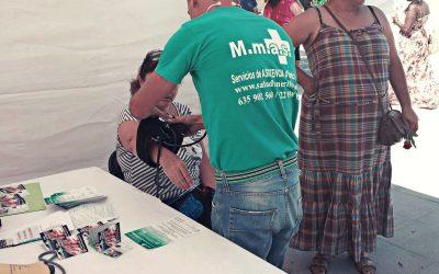 MMAS Servicios Sanitarios participa en actividades locales relacionadas con la salud